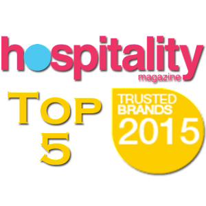 HM Top 5 Trusted Brands Badge